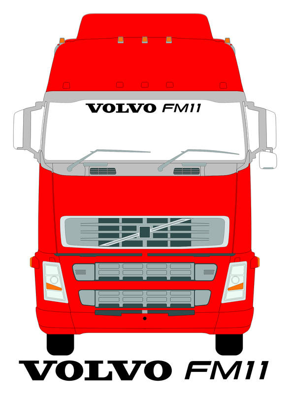 VOLVO FM11 SCREEN