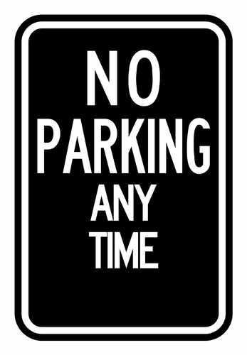 no parkin anytime
