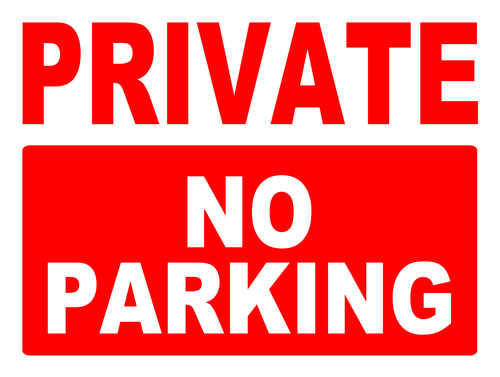private no parking2