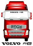 VOLVO FH16 - Truck Screen Sticker