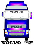VOLVO FH13 - Truck Screen Sticker