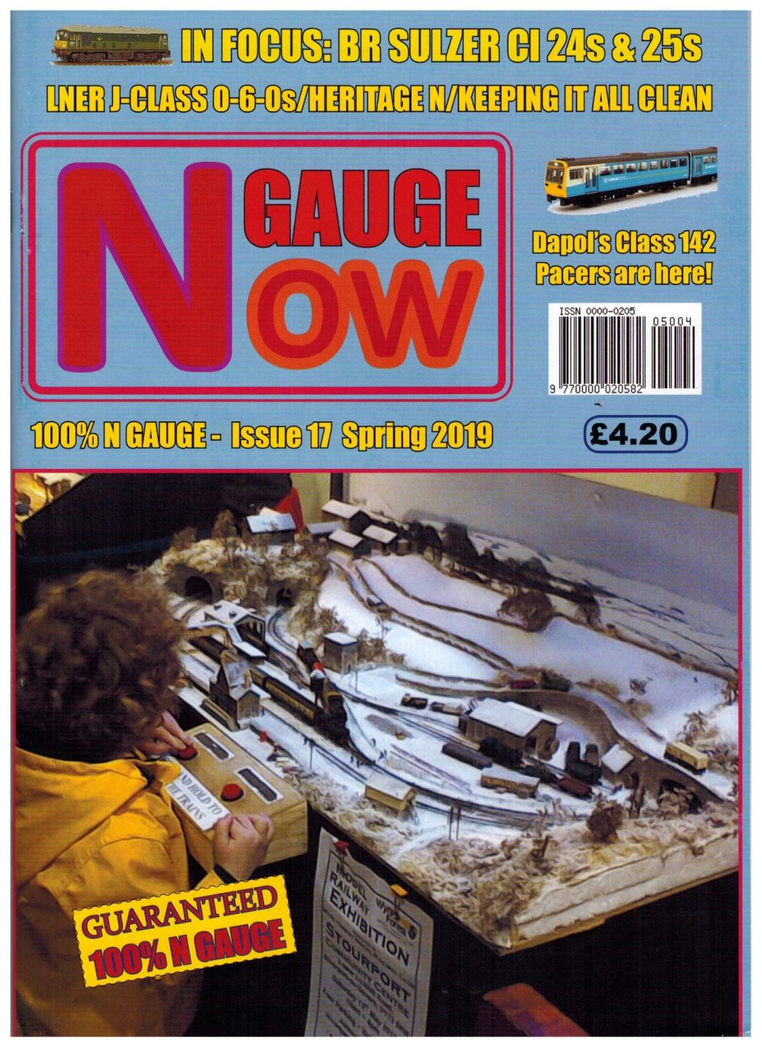 N GAUGE NOW Issue 17 (Spring 2019)