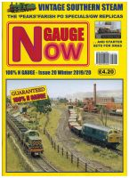 N GAUGE NOW Issue 20 (Winter 2019/20) (inc P&P)