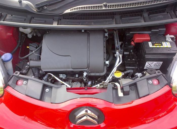 NEW CAR UNDER BONNET