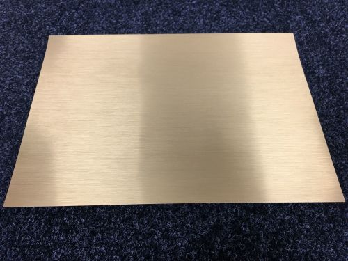A4 Self Adhesive Printable Brushed Gold Foil sheets  (10 Sheets)