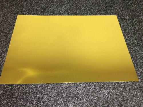 A4 Self Adhesive Printable Satin Gold Foil sheets  (10 Sheets)