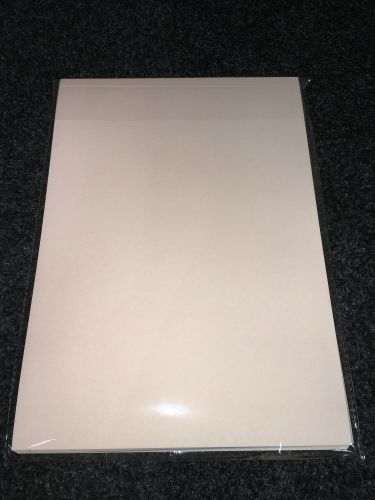 A4 Premium Grade 110 gsm Sublimation Paper (100 Pack) Pink Back