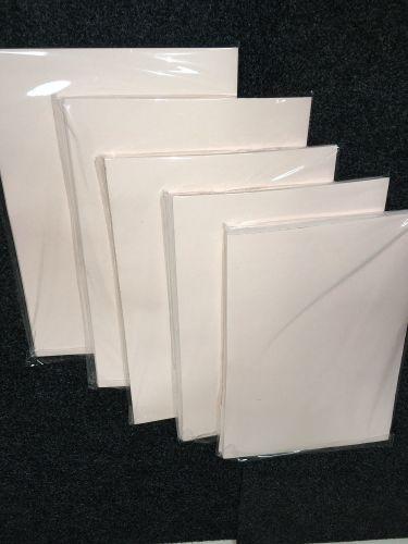 A3 Premium Grade 110 gsm Sublimation Paper (500 Pack) Pink Back