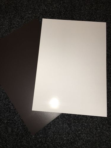 A4 White Printable High Gloss Magnetic Photo Paper  5 Sheets