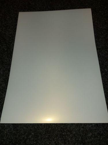 A4 Pearl Effect 120gsm White Inkjet Printable Self Adhesive Vinyl 20 Pack
