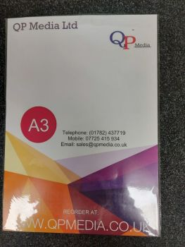 A3 Holographic Effect Self Adhesive Inkjet Vinyl