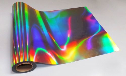 A3 Holographic Silver Inkjet Printable Self Adhesive Vinyl 20 Sheets