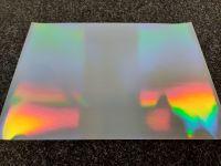 A4 Self Adhesive Printable Holographic Silver Sheets  (10 Sheets)