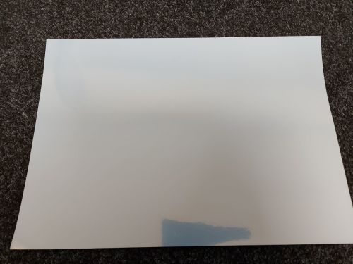 A3 Silver Pearl Effect Self Adhesive Inkjet Vinyl 120gsm (60 Sheets)