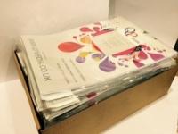 A4 Matte White 120gsm Self Adhesive Inkjet Vinyl 250pk