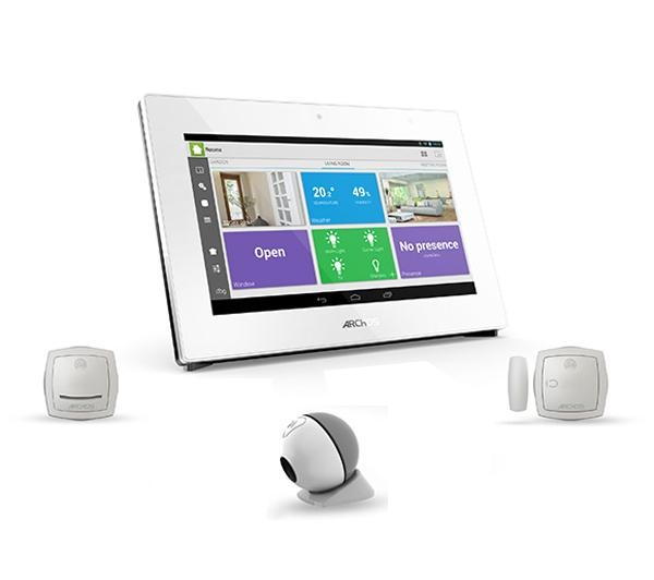 ARCHOS PACK SMART HOME: 1 SMART HOME TABLET + 2 MINI CAMERAS + 2 MOTION SEN