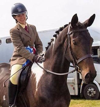 Lola Herts Co winner ridden sports horse 2016