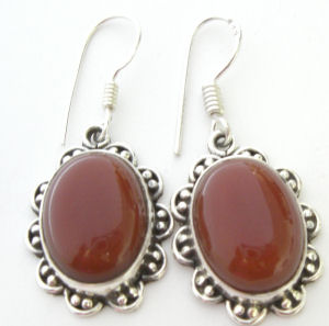 Carnelian earrings 20 dec