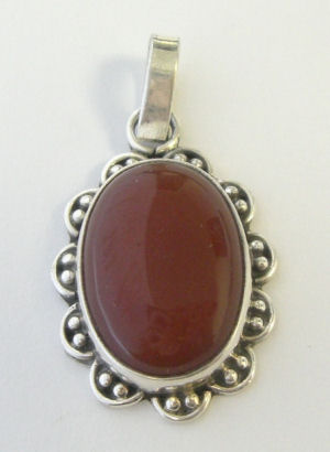 carnelian pendant 28th jan