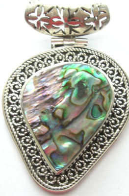 Mother of Pearl Silver Pendant (MofP30)
