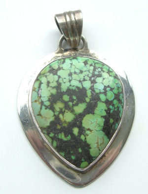 Turquoise Silver pendant (TP05)