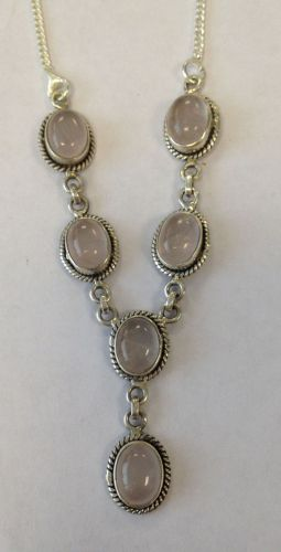 Moonstone Silver Necklace  (MN31)