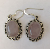 Moonstone Silver Earrings  (ME10)