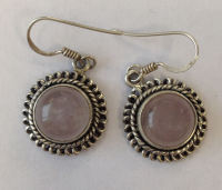 Moonstone Silver Earrings  (ME12)