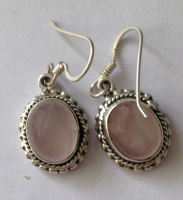 Moonstone Silver Earrings  (ME13)