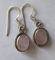 Moonstone Silver Earrings  (ME14)
