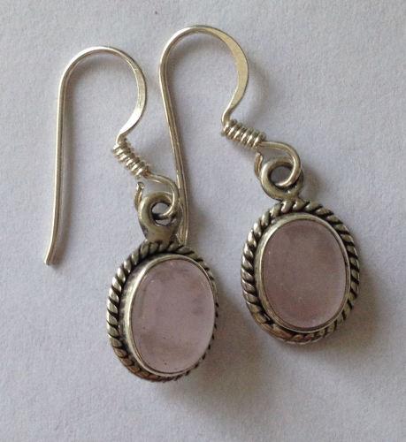 Moonstone Silver Earrings  (ME14)