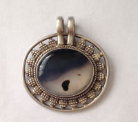 Moonstone Silver Pendant  (MP11)