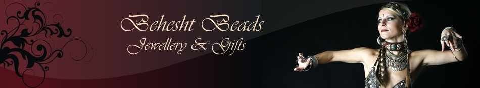 Behesht Beads, site logo.