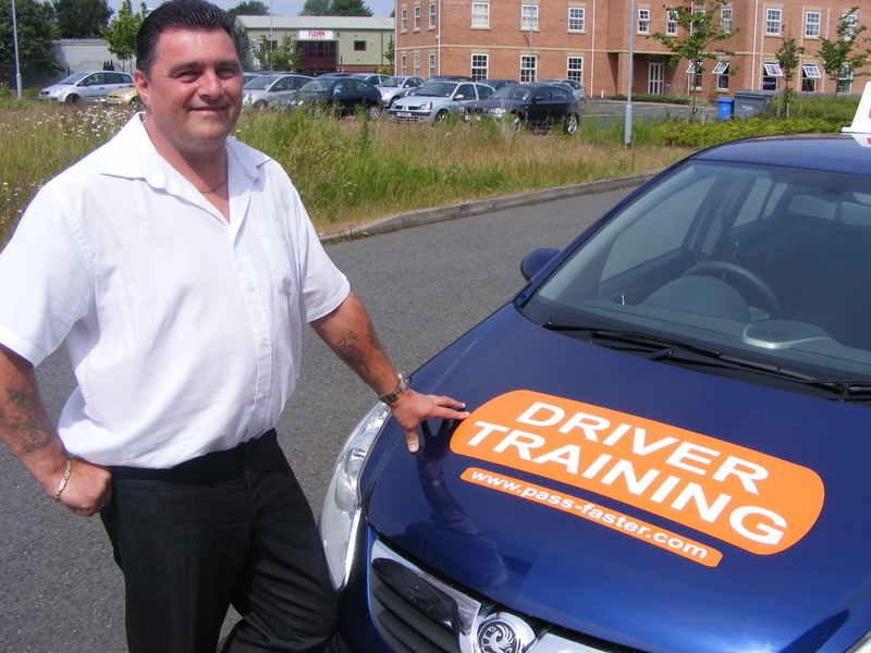Driving instructor training shropshire