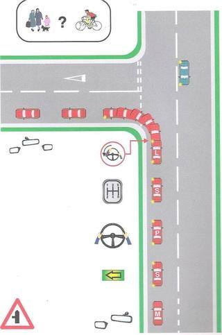 pst 7 left turn