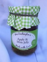 Mrs Darlington's apple and mint jelly