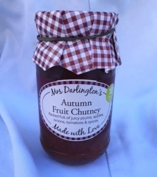 Mrs Darlington's autumn fruit chutney