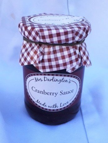 Mrs Darlington's cranberry sauce