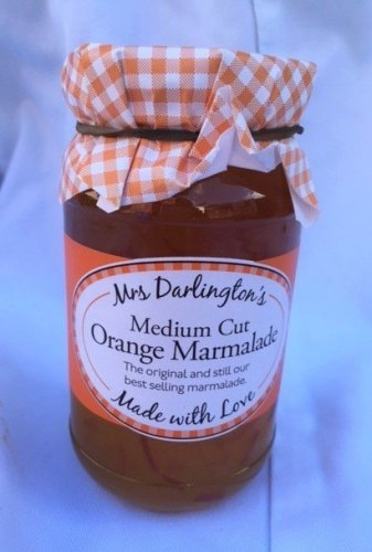 Mrs Darlington's medium cut orange marmalade