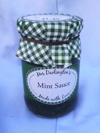 Mrs Darlington's mint sauce