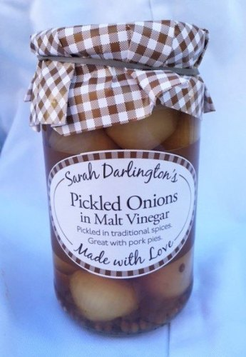 Mrs Darlington's pickled onions