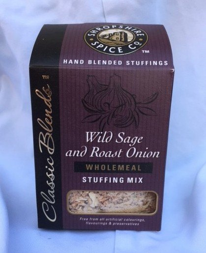 Shropshire Spice Company wild sage and roast onion stuffing