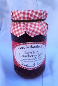 Mrs Darlington's strawberry jam