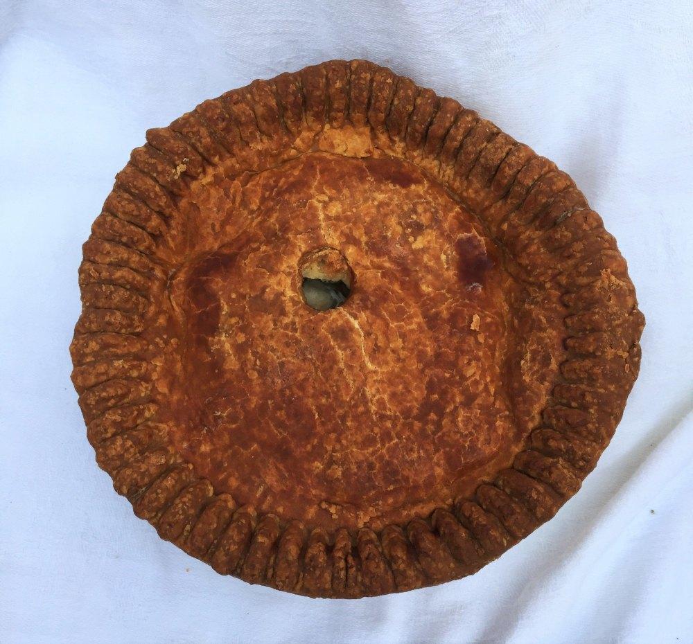 Even larger pork pie!