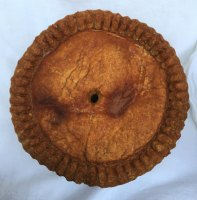 Extra large pork pie