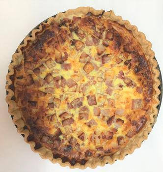 Party size quiche