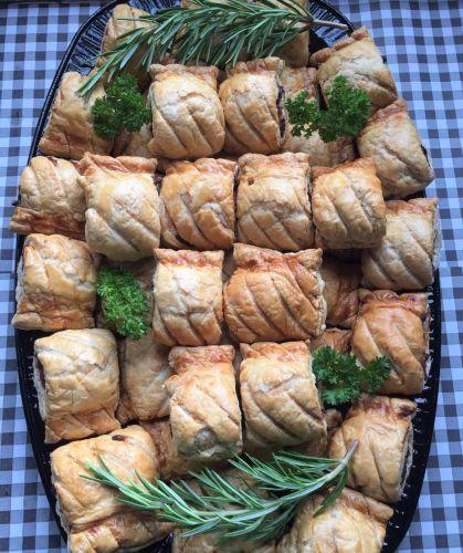 Sausage roll platter