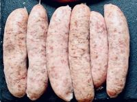 Saul's thick family sausages