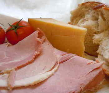 Our own baked ham