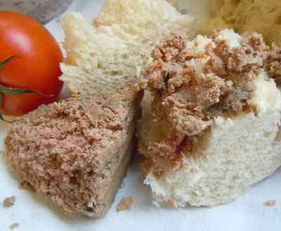 Our own chicken liver pâté